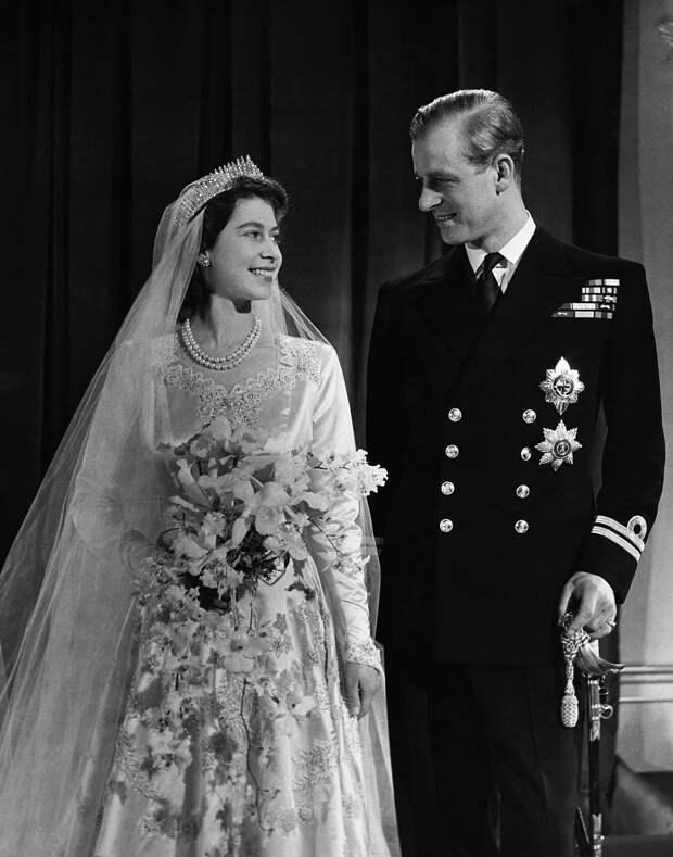 Свадьба Елизаветы II и принца Филиппа, 1947
