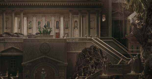 Необычная рекламная кампания для Государственного музея архитектуры им. А.В. Щусева (12 фото)