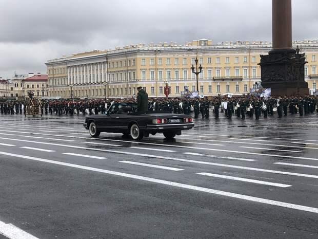 Репетиция парада Победы в Петербурге в 2021 году