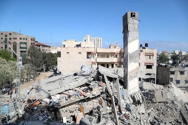 В секторе Газа оценили нанесенный Израилем ущерб в 244 млн долларов