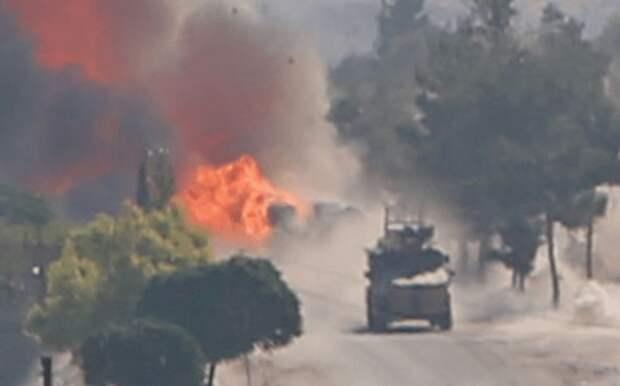 В Сирии атакован бронеавтомобиль «Тигр» российской военной полиции