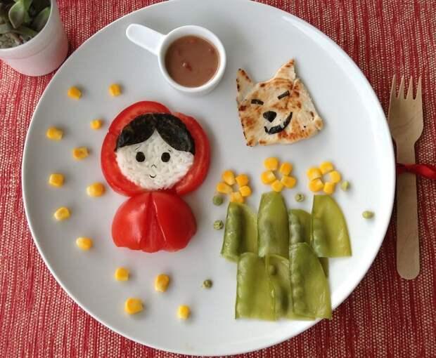 Бразильская мама создает кулинарные сюжеты