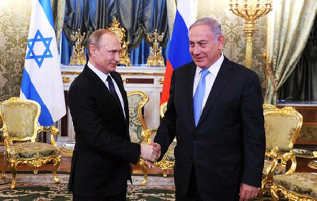 Путин и Нетаньяху обменялись поздравлениями по случаю годовщины Победы в ВОВ