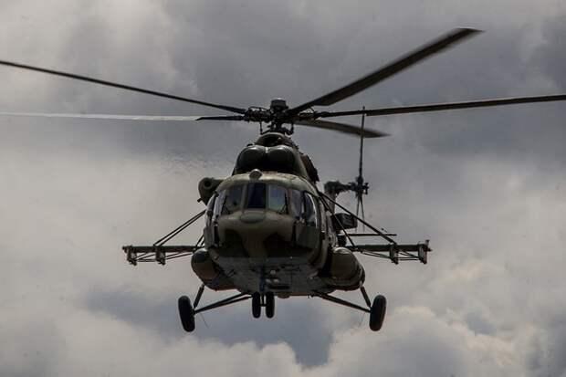 Перед крушением вертолет Росгвардии уводил борт от жилых построек