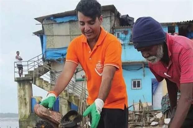 Индийский юрист Афроз Шах: «В отходах можно было утонуть. Тогда я решил, что пришло время действовать»