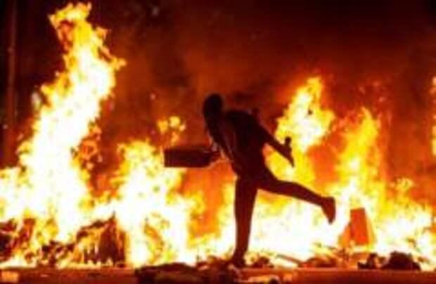 Уличная война в Барселоне