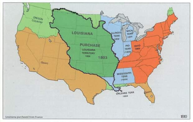 Территории, за которые Америка платила золотом