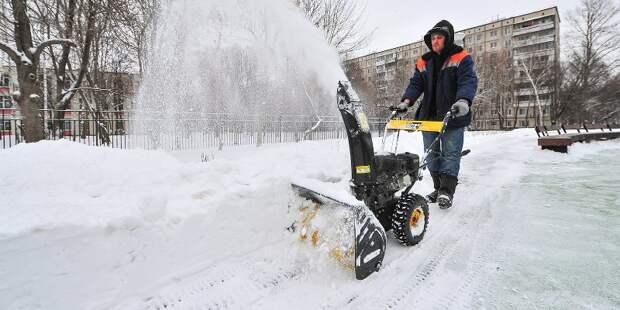 Сергей Собянин поручил усилить уборку снега