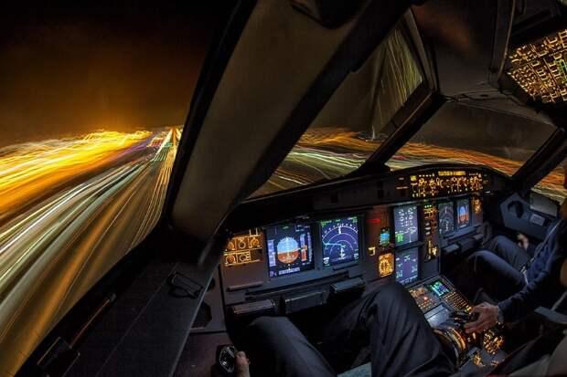 fromcockpit21 25 фотографий, сделанных пилотами из кабин самолетов
