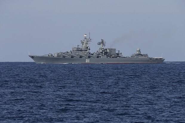 Черноморский флот начал следить за британским кораблем Trent