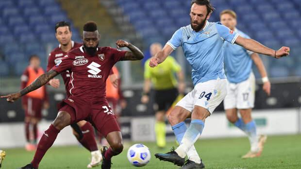 «Лацио» и «Торино» сыграли вничью в Серии А