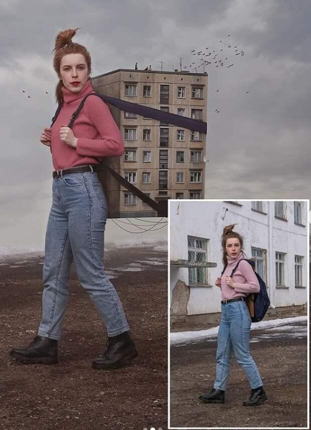 Российская фотохудожница создает сюрреалистические автопортреты, ломающие мозг