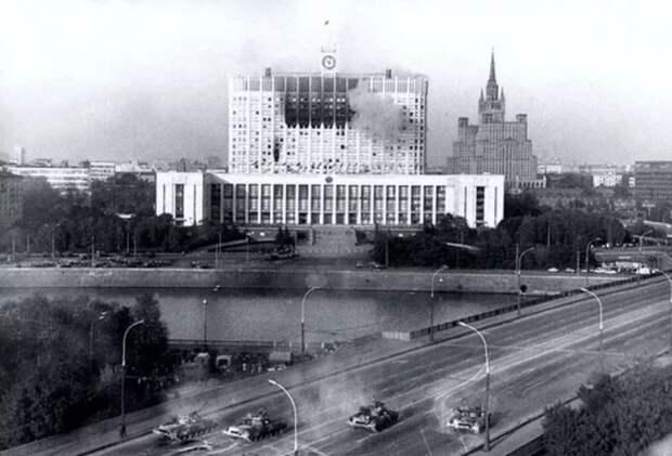Огонь на поражение. Как Ельцин парламент расстрелял