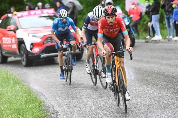 Джино Медер – победитель 6 этапа Джиро д'Италия-2021