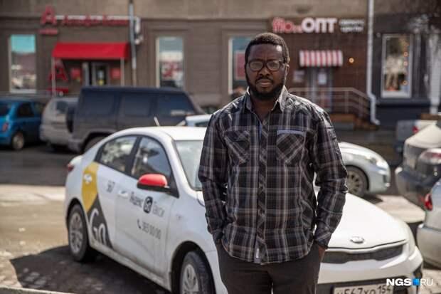 Агянаку из Лагоса. Состоятельный африканец сбежал из Нигерии и теперь таксует в Сибири