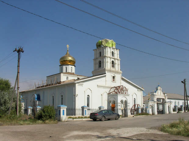 1946 - храм Михаила Архангела - Магнитогорск