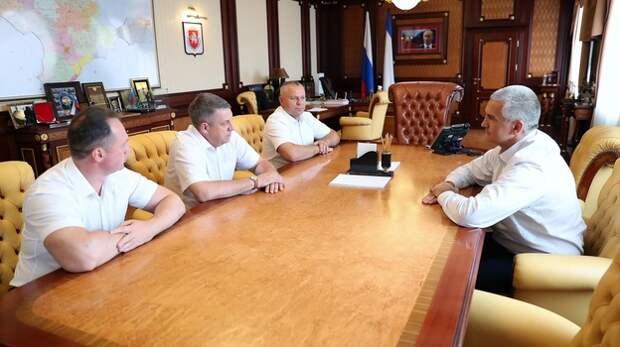 В Крым приехала делегация из Брянской области
