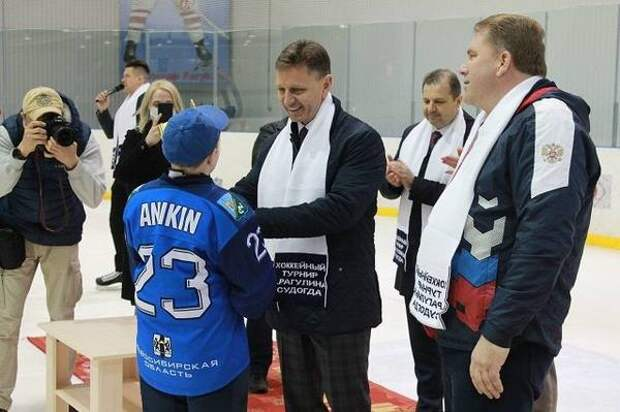 В Судогде наградили победителей XX хоккейного турнира памяти А.П. Рагулина