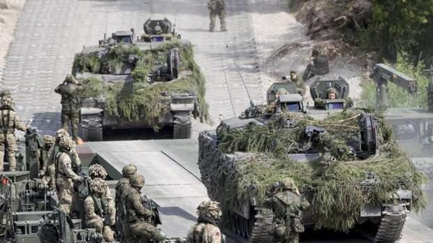 На Балканах развернулись масштабные учения НАТО