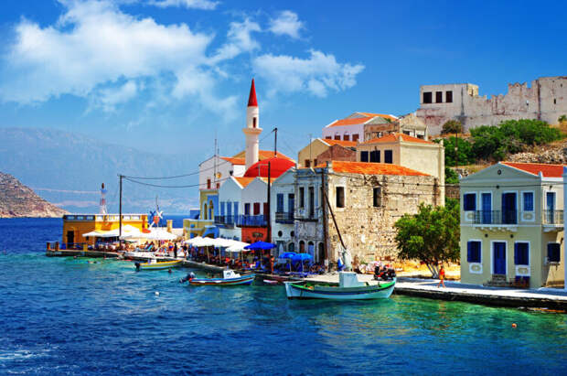 В Греции за комплимент принято дарить подарок