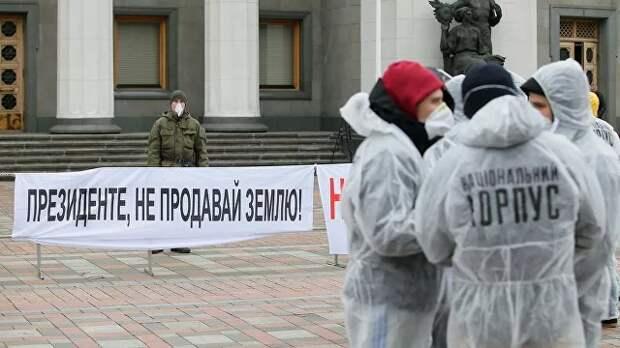 Украина идет в ЕС частями, и первой там окажется земля