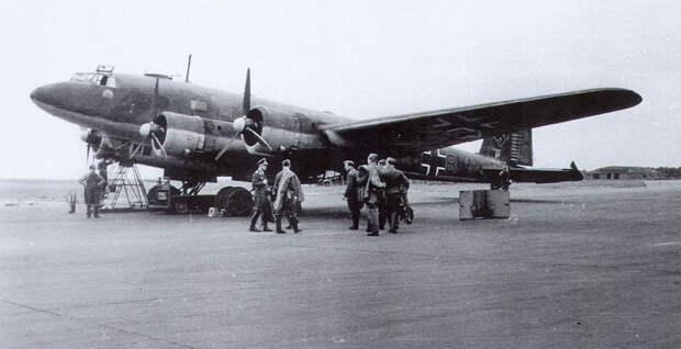 Тяжелые бомбардировщики Третьего Рейха