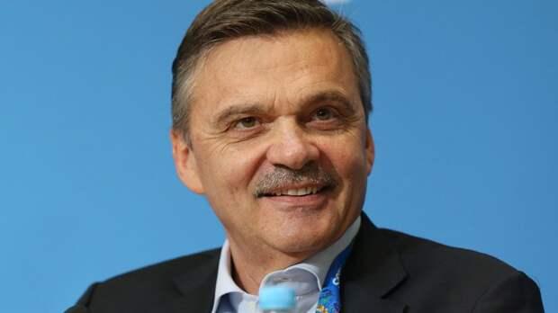 Фазель встретился с главой «Авангарда» Крыловым и впечатлился темпами строительства арены в Омске
