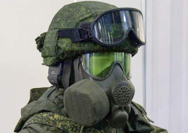 Партия новейших противогазов ПМК-4 поступила на оснащение подразделений ЮВО