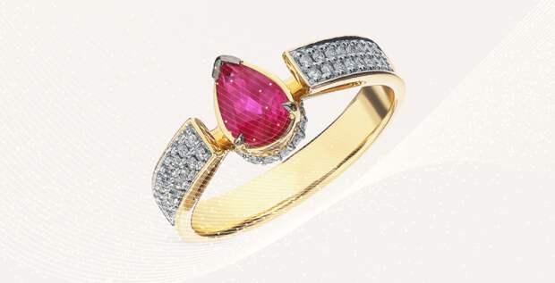 Кольцо с рубином и еще 8 дорогих украшений на каждый день