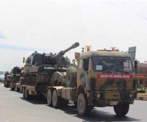 Турецкий спецназ и колонны бронетехники прибыли на север Алеппо, чтобы изгнать проамериканские силы (видео)