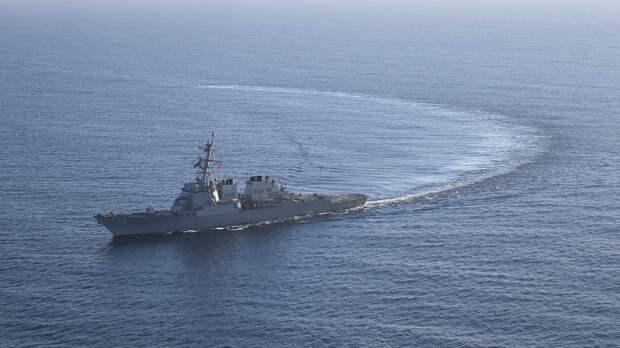 ВМС США сообщили о выходе американского эсминца из акватории Черного моря