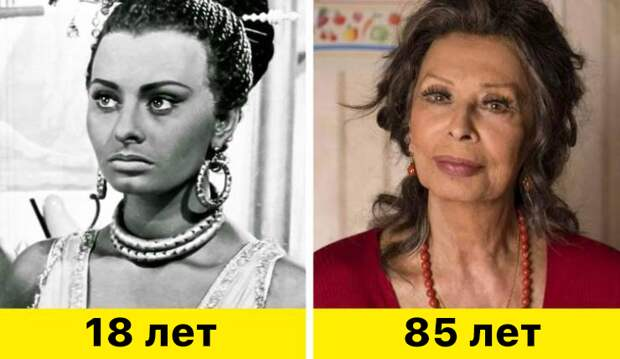"16. Софи Лорен - ""Аида"" (1953) и ""Вся жизнь впереди"" (2020)"