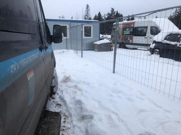 В Выборгском районе Ленобласти с погоней задержали водителя автобуса