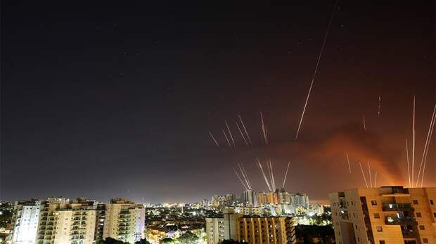 Более 1,75 тысячи ракет выпущено из сектора Газа по Израилю за 4 дня