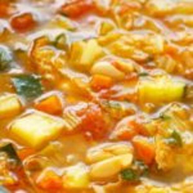 Овощной итальянский суп «Минестроне»