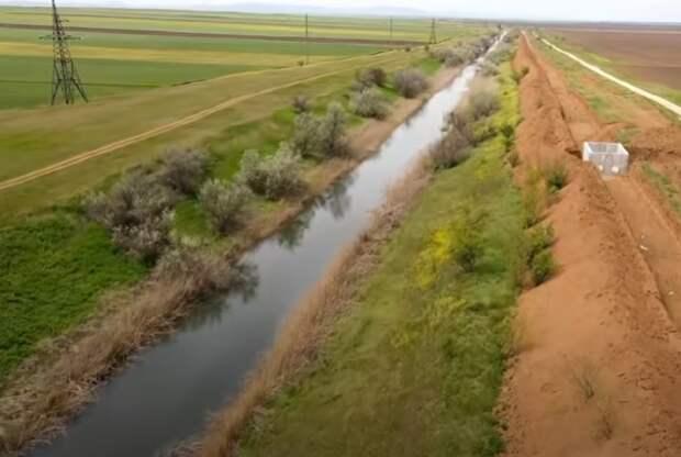 Дублер Северо-Крымского канала поставит точку в водной блокаде полуострова