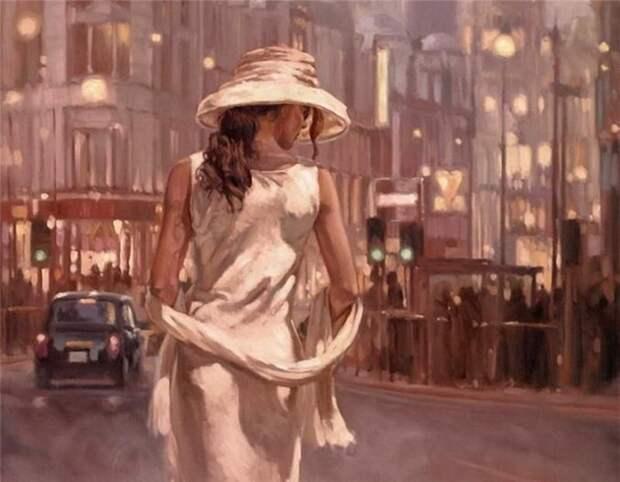 Женская красота в работах английского художника Марка Спейна (Mark Spain)