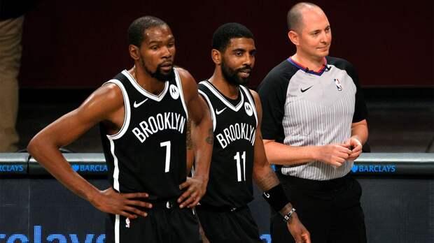 «Бруклин» обыграл «Бостон» и повел в серии со счетом 3-1, Дюрант и Ирвинг набрали 81 очко на двоих