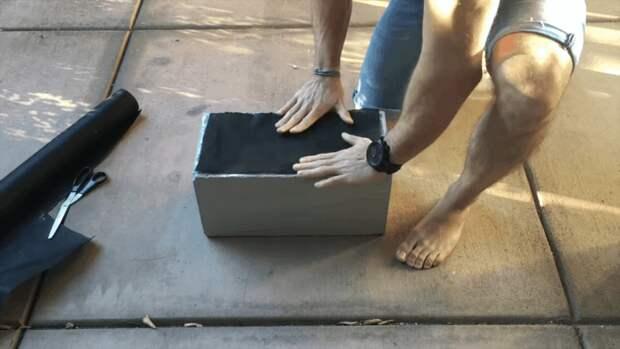 Клумба-тетрис из остатков шлакоблоков — оригинальное украшение дачного участка