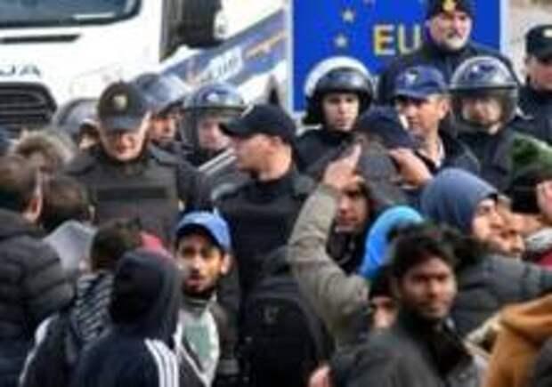 «Армия мигрантов» на границе ЕС