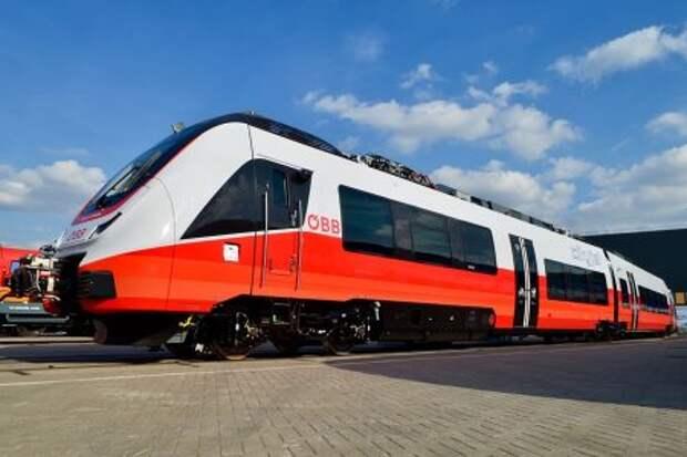 Bombardier Cityjet Talent 3 для Oesterreichische Bundesbahn