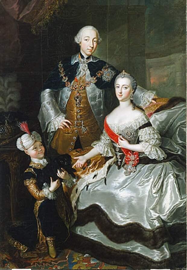 Екатерина и Петр III