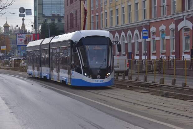 Трамваи в Строгине не будут ходить 5 и 6 июня