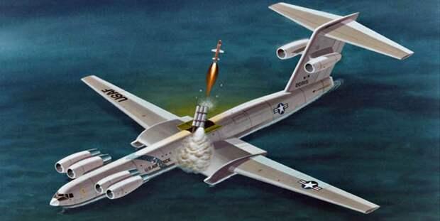 Проект экранолёта отMcDonnell Douglas, вооружённого противокорабельными ракетами