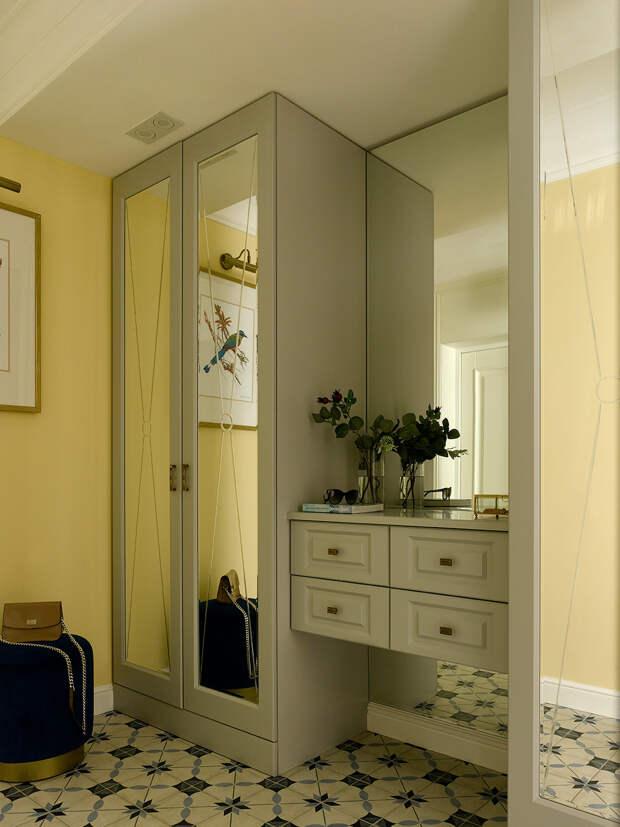 44 кв.м — квартира с многоуважаемым шкафом