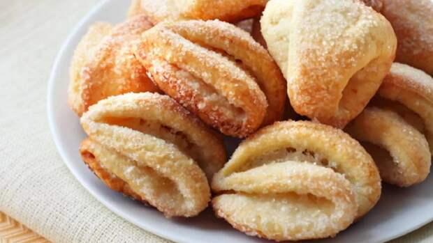 Вкусно и просто: рецепт домашнего творожного печенья к чаю