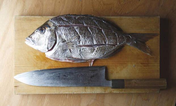 Жарим рыбу во фритюре