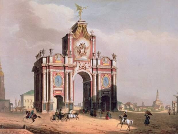 Старая Москва в изобразительном искусстве.
