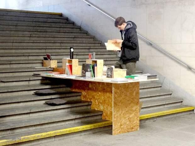 Стол для уличного продавца