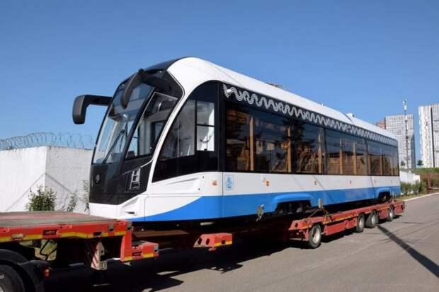 Новые трамваи выведут на маршруты по Войковскому району